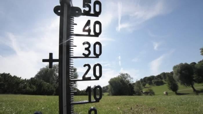 News video: Hoch «Corina»: Hitze und Gewitter in Deutschland