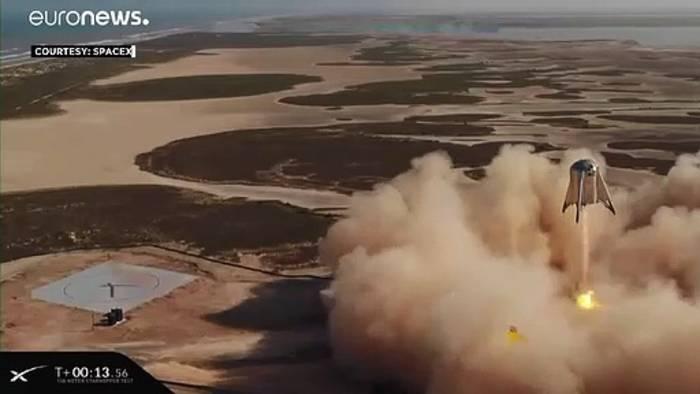 News video: SpaceX testet Rakete für Mond- und Mars-Mission