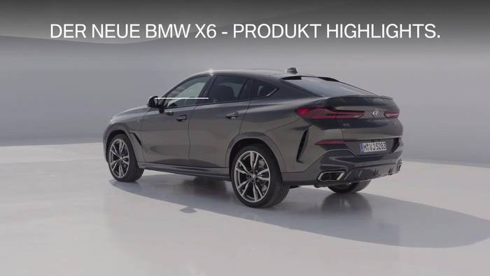 News video: Der neue BMW X6 - Produkt Highlights