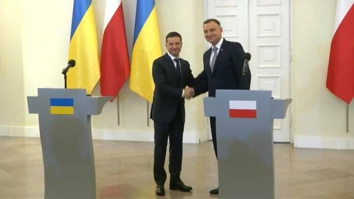 Video: Polen, Ukraine: Russland soll Krim zurückgeben