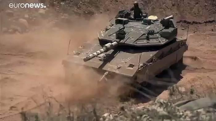 News video: Israel verlegt Truppen an die libanesische Grenze