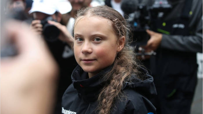 News video: Segeltour beendet: Greta Thunberg ist in New York angekommen