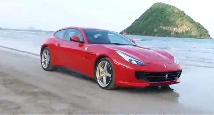 News video: Eine Tour durch Kanada im luxuriösen Ferrari GTC4Lusso T