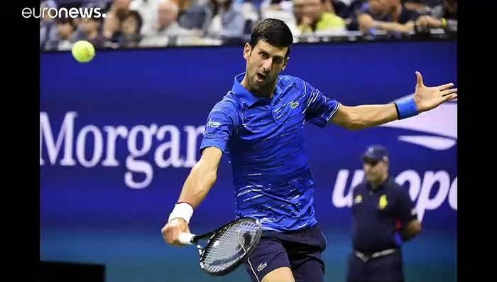 News video: Djokovic gibt bei US Open verletzt auf - Wawrinka im Viertelfinale