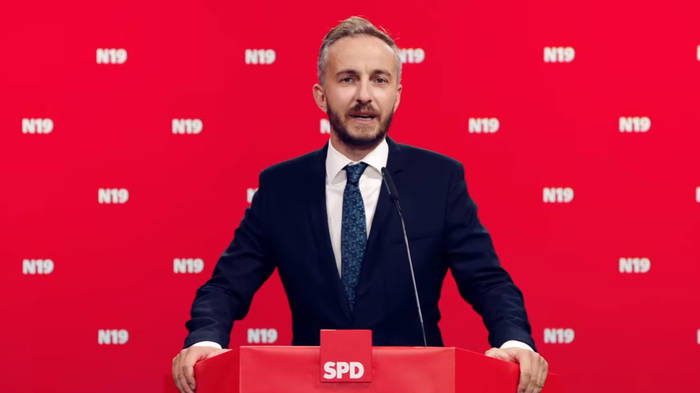 News video: Jan Böhmermann: Kandidatur für den SPD-Vorsitz vorerst gescheitert