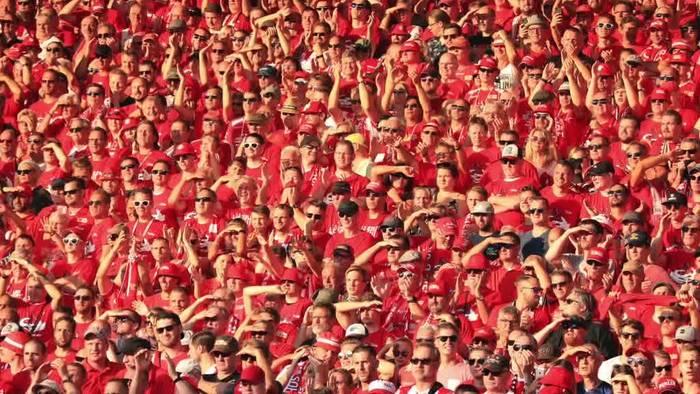 News video: Fußball pur: Union jagt den BVB aus der Alten Försterei