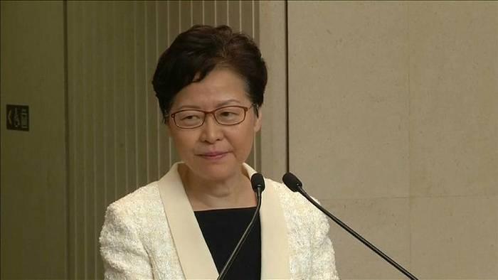 News video: Trotz Massenprotesten: Carrie Lam lehnt Rücktritt ab