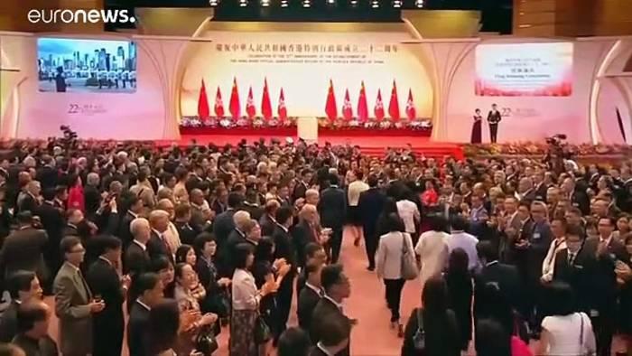 News video: Hongkongs Regierung will Auslieferungsgesetz zurückziehen