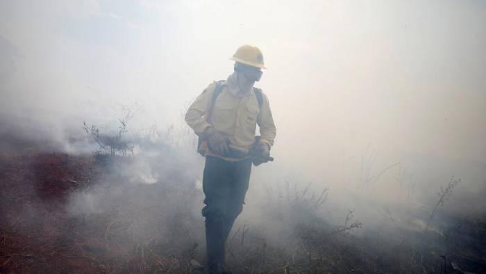 News video: Amazonas-Brand: Armee und Feuerwehr arbeiten zusammen