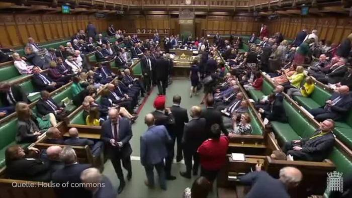 News video: London: Die lange Nacht des «No-No-Deal-Brexit»