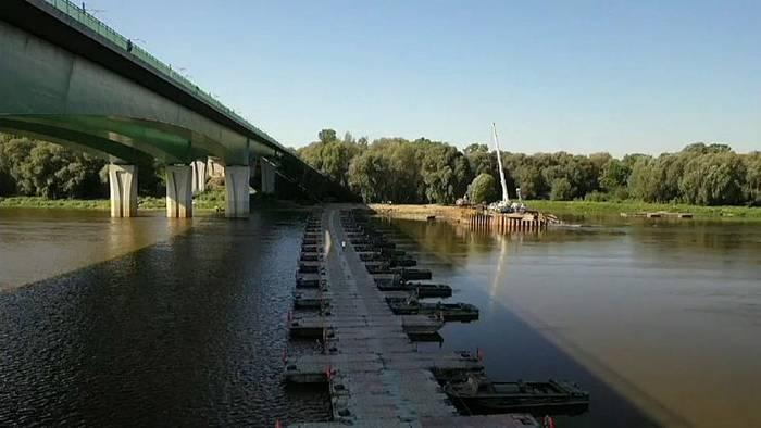 News video: Warschau: Neue Abwasserrohre für die Weichsel
