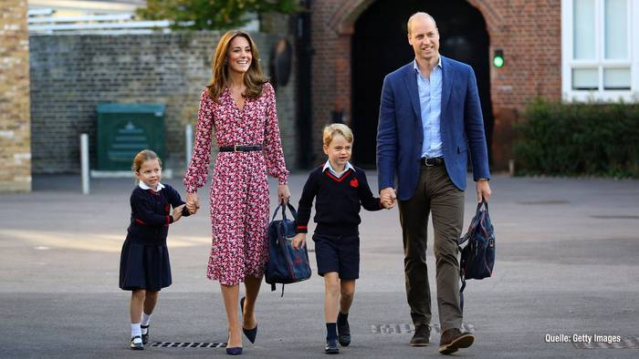 Video: Prinzessin Charlottes erster Schultag: So sprechen Lehrer sie an!