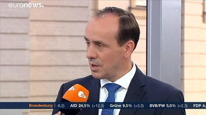 News video: Konsequenz aus der Wahl: CDU-Politiker Senftleben (45) tritt zurück