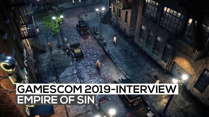 News video: Empire of Sin - Das exklusive Interview | gamescom 2019