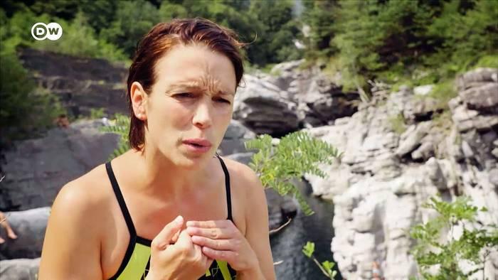 Video: Kopfüber in die Tiefe: Anna Bader | Euromaxx