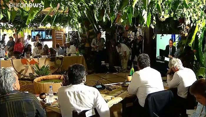 News video: Amazonas-Anrainer schließen Pakt zum Schutz des Regenwalds