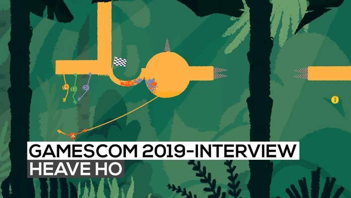 News video: Heave Ho - Das Interview | gamescom 2019