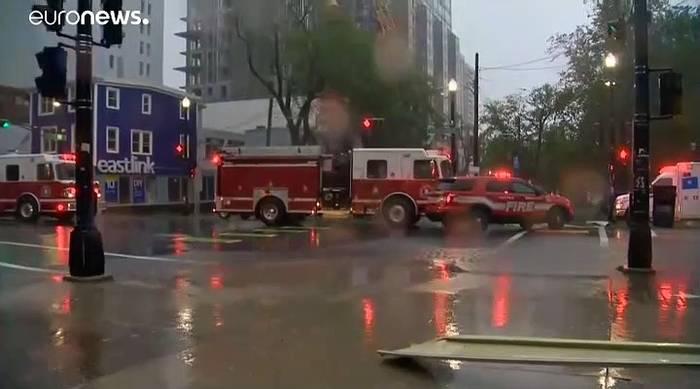 News video: Sturm 'Dorian' trifft Kanada: Mehr als 400.000 Haushalte ohne Strom