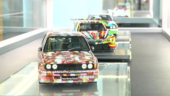News video: BMW Art Cars im Museum der bildenden Künste Leipzig 2018