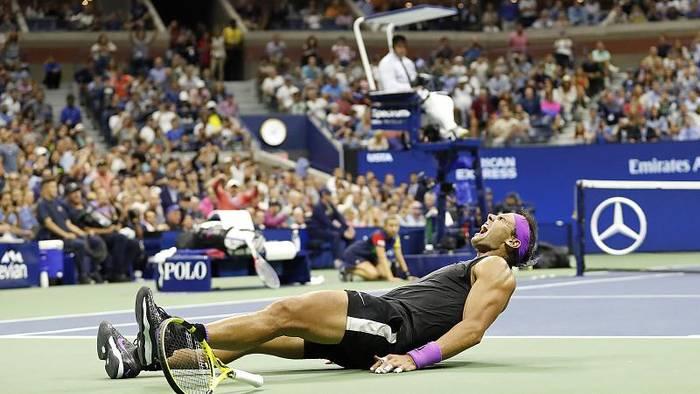 News video: 19. Grand-Slam-Triumph: Nadal schlägt Medwedew
