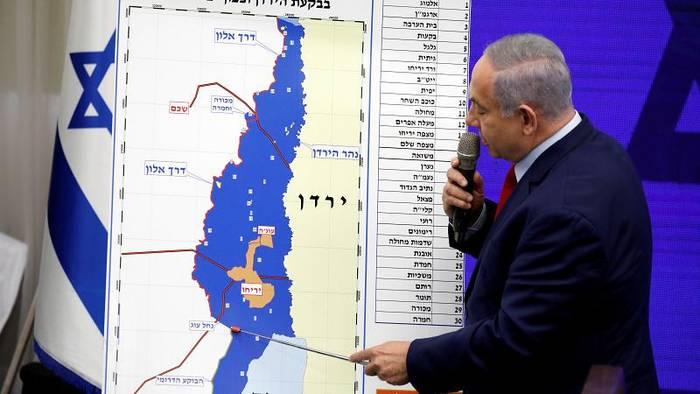 News video: Netanjahu will bei Wahlsieg Jordantal annektieren
