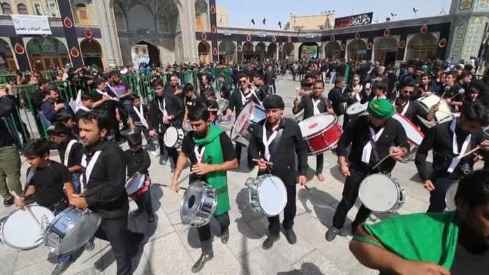 News video: Iran: Aschura-Fest in Ghom