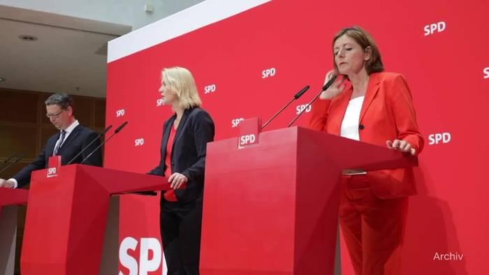 News video: Krebserkrankung: Manuela Schwesig legt SPD-Vorsitz nieder