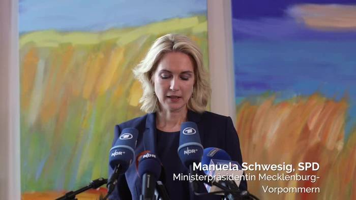 News video: Schock-Diagnose: Schwesig sagt Brustkrebs den Kampf an