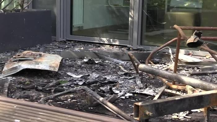 News video: Klinikbrand in Düsseldorf: ein Toter, viele Verletzte