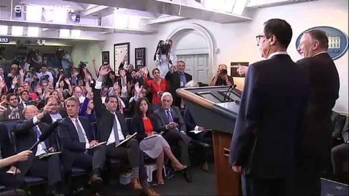 News video: Pompeo verteidigt Trumps Entscheidung, Bolton zu entlassen