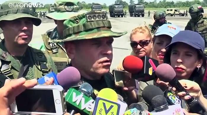 Video: Manöver an kolumbianischer Grenze: 150.000 venezolanische Soldaten in Alarmbereitschaft