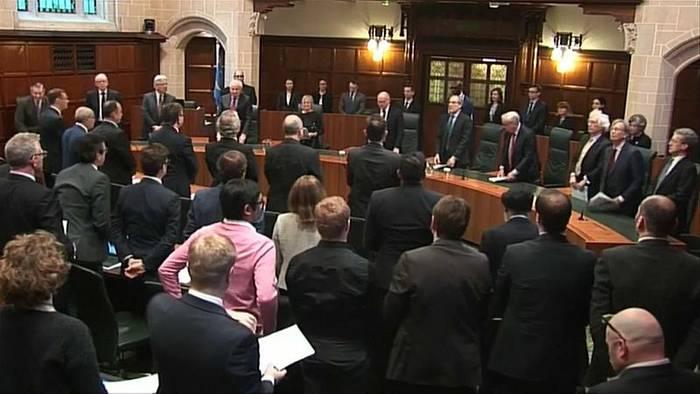 Video: Schottisches Gericht erklärt Zwangspause des Parlamentes für ungesetzlich