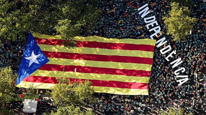 News video: Nur noch 44 % für Unabhängigkeit von Katalonien