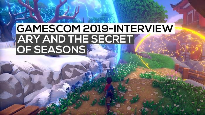 News video: Ary and the Secret of Seasons - Das Interview | gamescom 2019