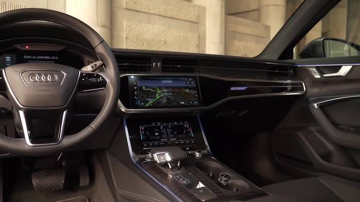 News video: Der neue Audi A7 Sportback - Interieurdesign