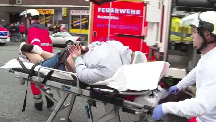 News video: Hamburg: Schwerer Verkehrsunfall nach Verfolgungsjagd
