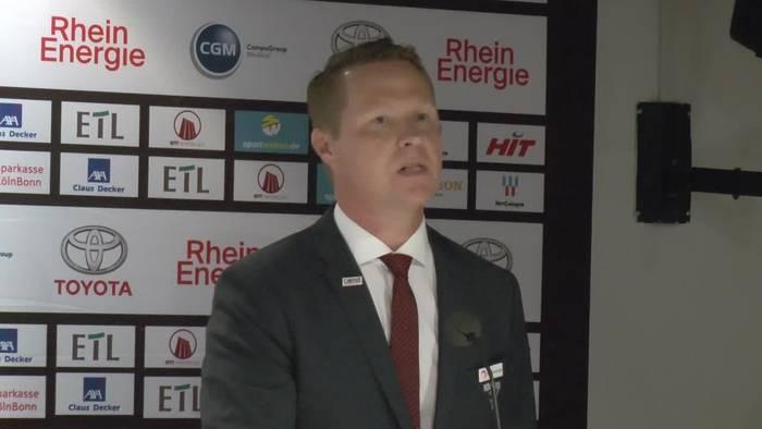 Video: Das sagen die Trainer, Roosters-Manager Christian Hommel, Jens Baxmann und Neal Samanski zum Iserlohner Sieg in Köln