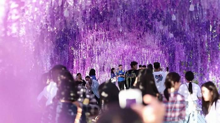Video: Schöne Bilder vom Mondfest in China