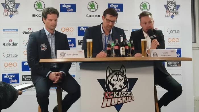 News video: Huskies gewinnen das Hessenderby