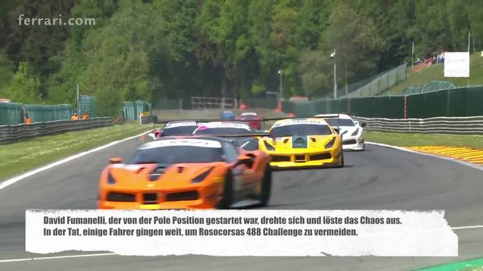 Video: Ferrari Challenge Europe und Racing Days - Spa-Francorchamps 2018