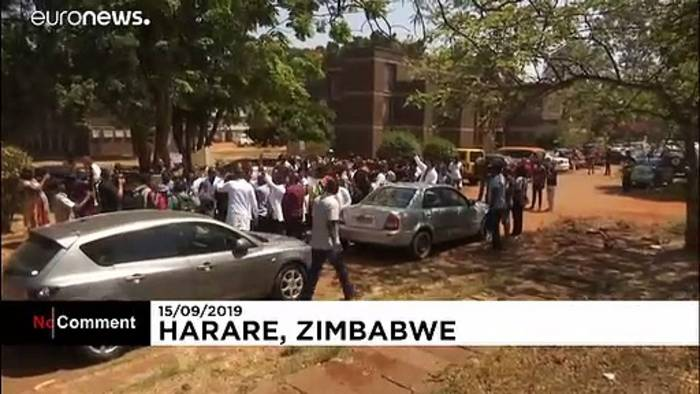 News video: Simbabwes Ärzte protestieren gegen mutmaßliche Entführung
