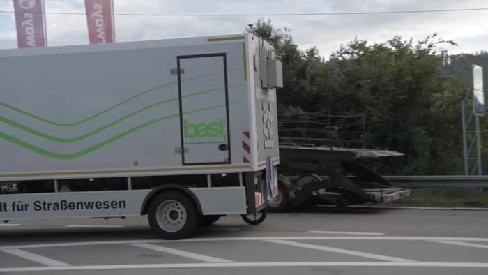 News video: Lasermessung: Bayerns Straßen mit hohem Sanierungsbedarf