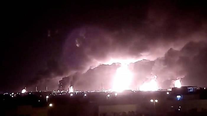 Video: Angriffe in Saudi-Arabien: Ölproduktion bricht um Hälfte ein