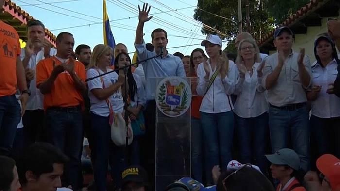 News video: Vorwürfe zu kolumbianischen Paramilitärs: Guaidó verteidigt sich