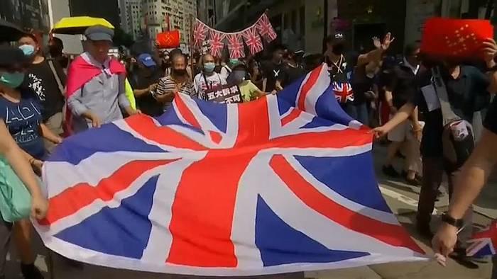 News video: Hongkong: