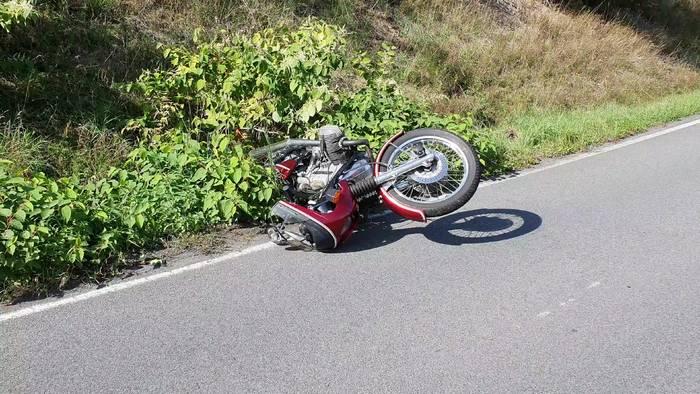 News video: Unfassbar! Motorradfahrer während der Fahrt von Baum erschlagen!
