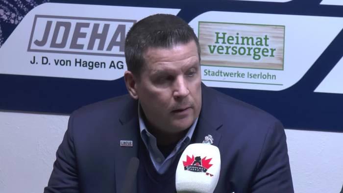 News video: Das sagen Tom Pokel, Jason O´Leary, Anthony Peters und Julian Lautenschlager zum Straubinger Sieg in Iserlohn