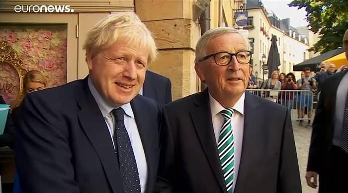 """Video: """"Brexit""""-Treffen Johnson/Juncker: Kein Durchbruch, wir sprechen weiter"""