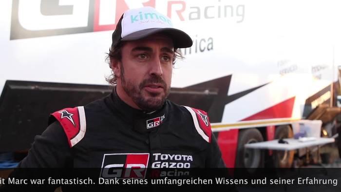 News video: Dakar-Veteran Marc Coma unterstützt Fernando Alonso - Neuer Navigator bei Toyota Gazoo Racing