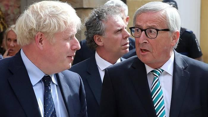 """News video: """"Brexit""""-Treffen Johnson/Juncker: Kein Durchbruch, wir sprechen weiter"""